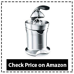 Breville 800CPXL Stainless-Steel Citrus Press